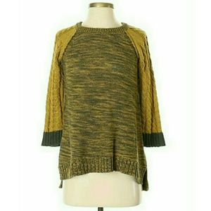 Margaret O'Leary Chunky Cable Knit Sweater (M)